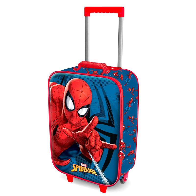 Maleta trolley 3D Spiderman Marvel 52cm