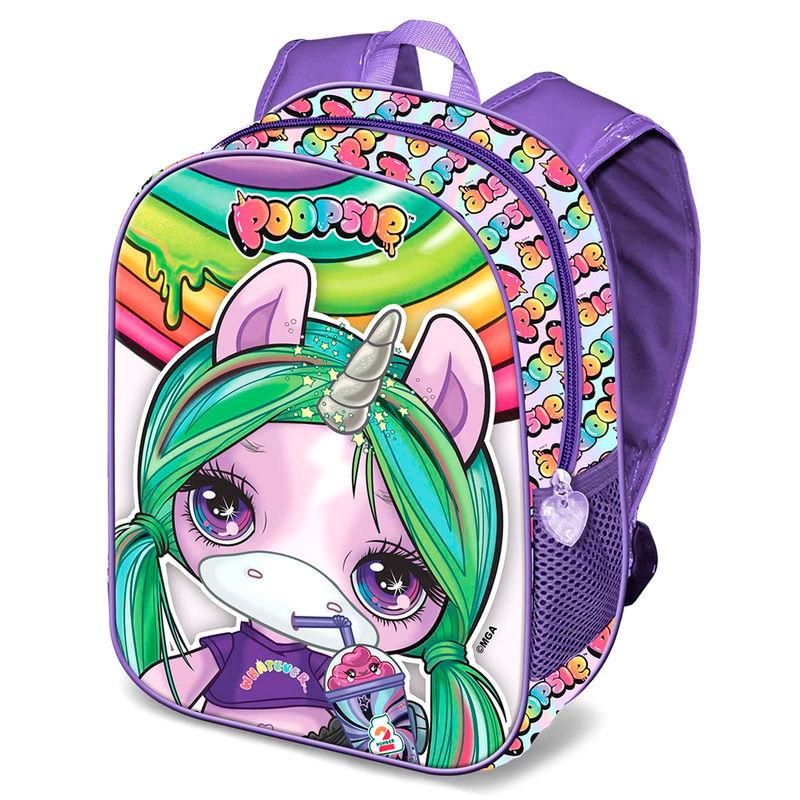 Mochila 3D Unicorn Poopsie 31cm 8445118005325