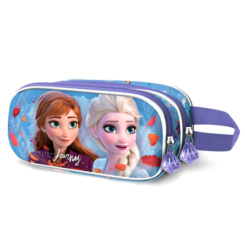 Portatodo Doble 3D Frozen 2 Journey Disney