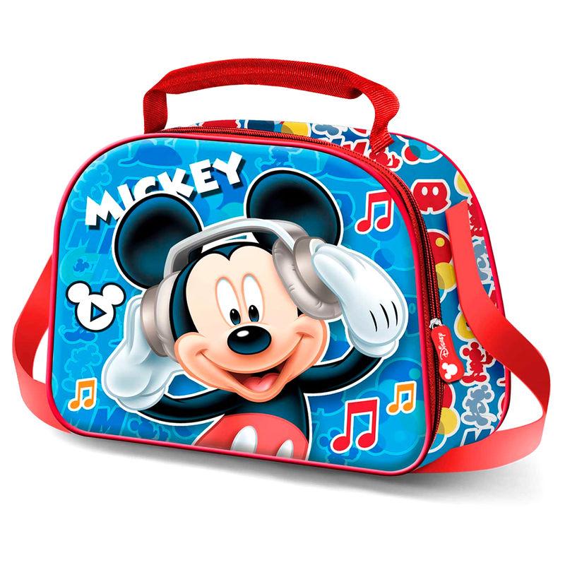 Bolsa portameriendas 3D Mickey Music Disney