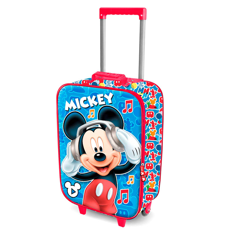 Maleta trolley 3D Mickey Music Disney 52cm