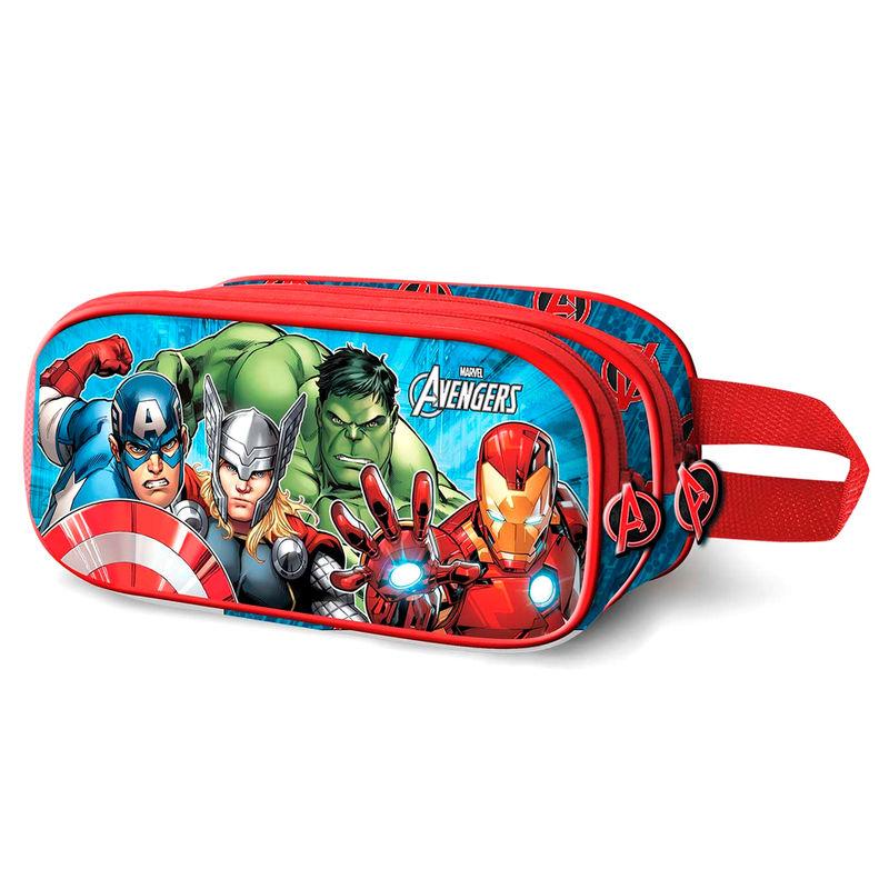 Portatodo Doble 3D Vengadores Avengers Marvel