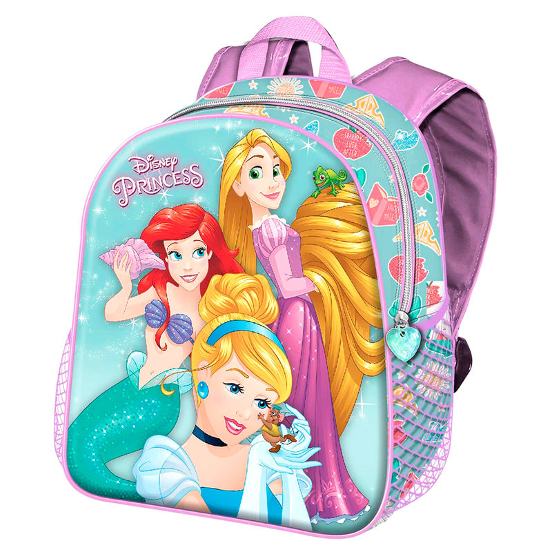 Mochila 3D Princesas Disney 31cm