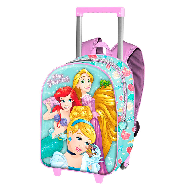 Trolley 3D Princesas Disney 34cm