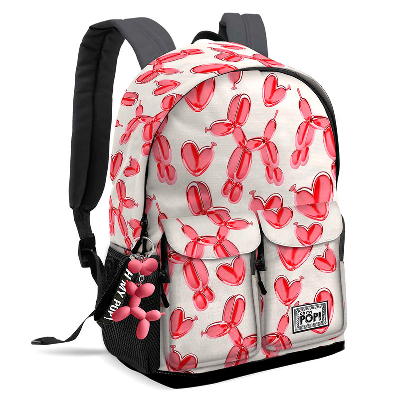 Mochila Oh My Pop Globoniche adaptable a carro 44 cm