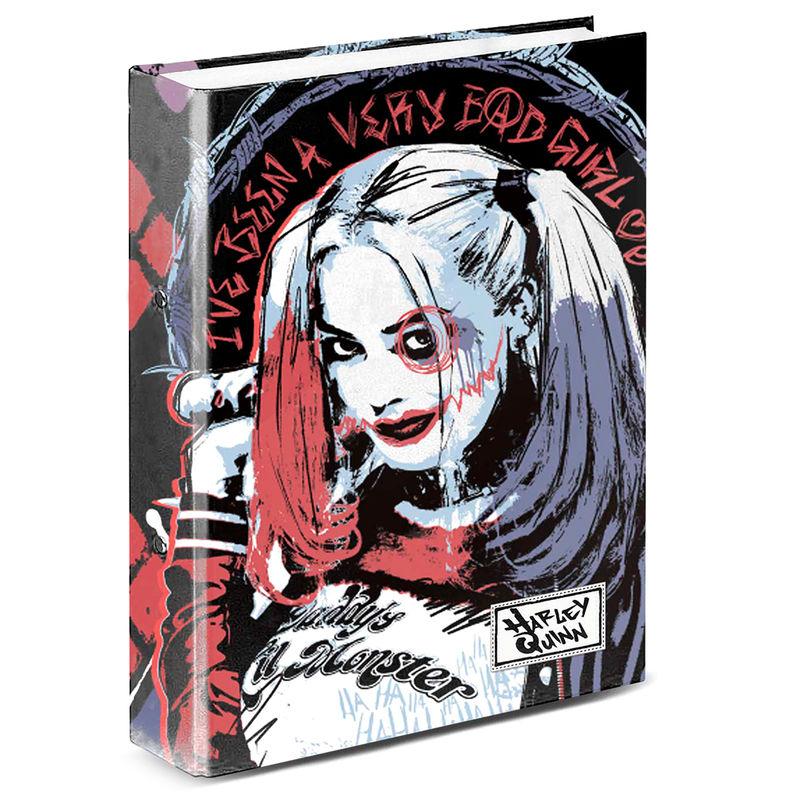 Carpeta A4 Harley Quinn DC Comics anillas
