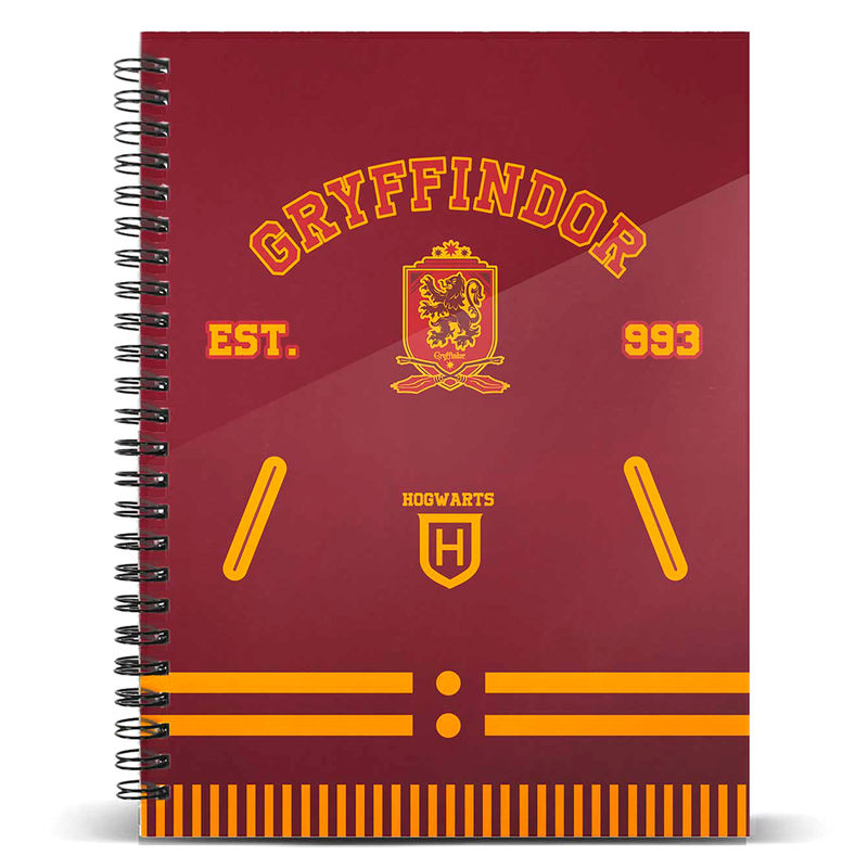 Cuaderno A5 Gryffindor Harry Potter