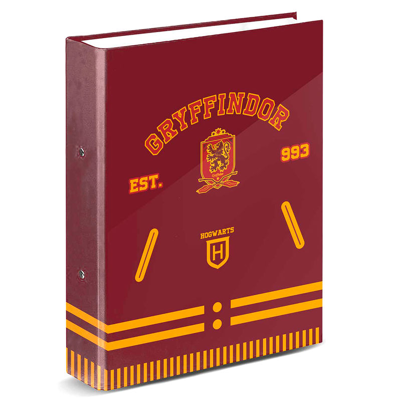Carpeta A4 Gryffindor Harry Potter anillas
