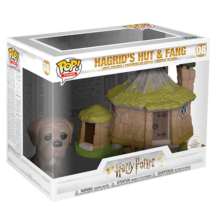 Funko POP o Figura POP Harry Potter Hagrid's Hut with Fang (2)