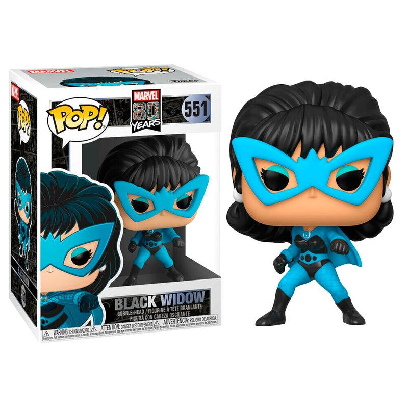 Funko Pop o Figura POP Marvel 80th First Appearance Black Widow
