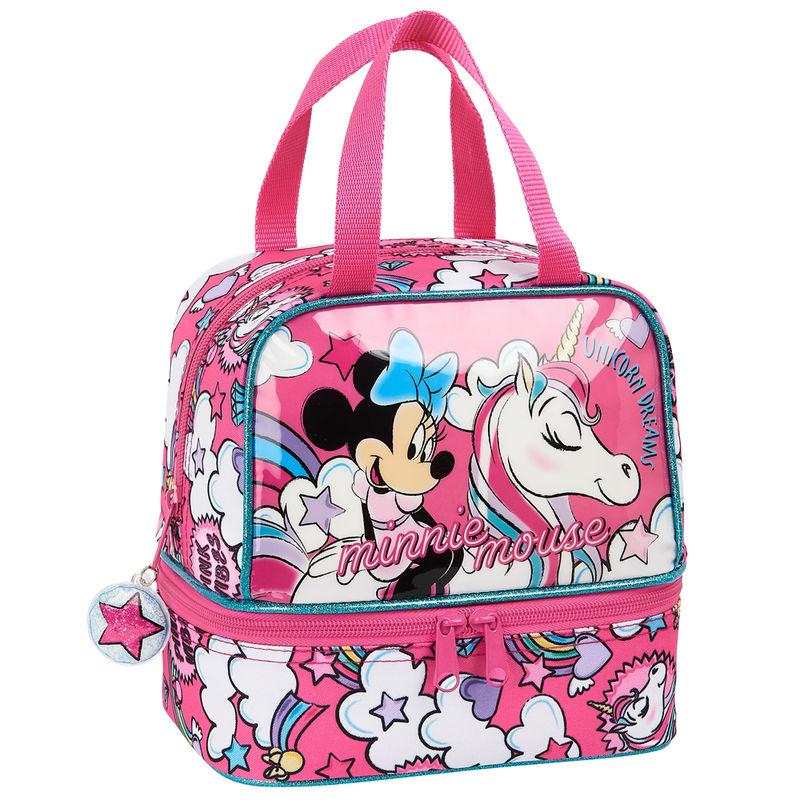 Bolsa portameriendas Minnie Unicorns Disney