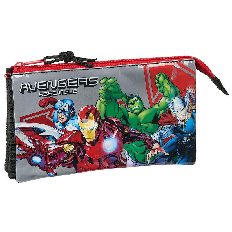 Portatodo Triple Vengadores Avengers Heroes Marvel