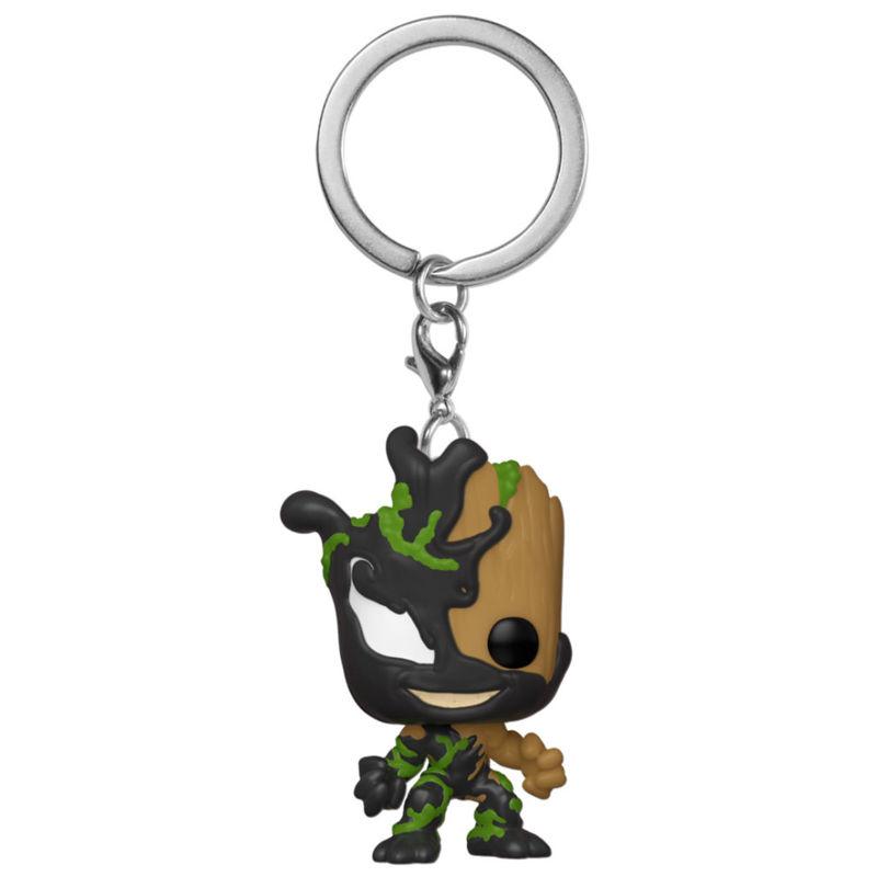 Llavero Pocket POP Marvel Venom Groot