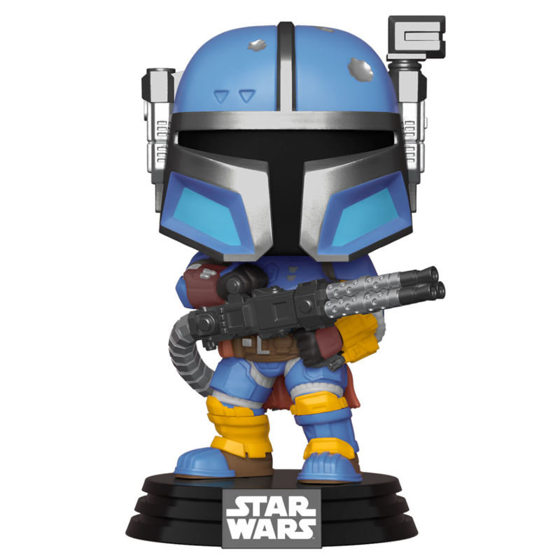 Funko POP o Figura POP Star Wars Mandalorian Heavy Infantry Mandalorian