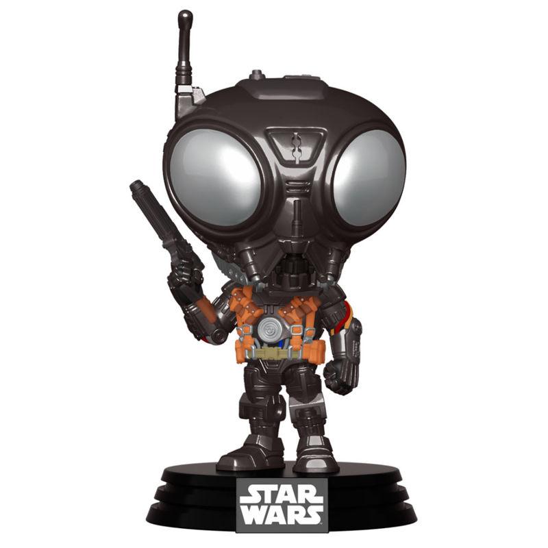 Funko POP o Figura POP Star Wars Mandalorian Q9-Zero