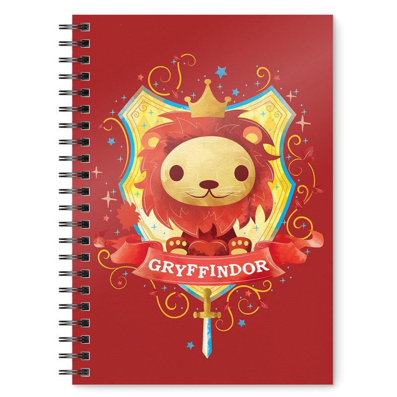Cuaderno A5 Gryffindor Harry Potter 8435450240584