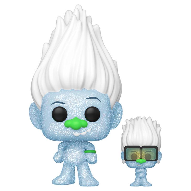 Funko POP o Figura POP Trolls World Tour Hip Hop Guy Diamond DGLT with Tiny Glitter