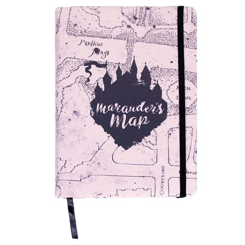 Cuaderno A5 premium Marauders Map Harry Potter 8427934298853
