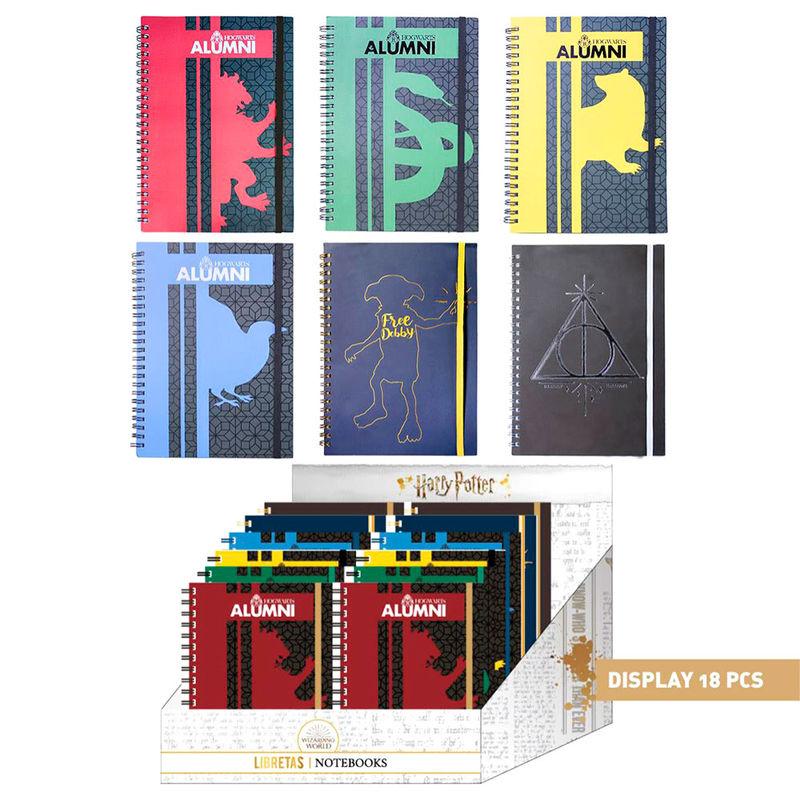 Cuaderno A5 Harry Potter surtido 18427934298775