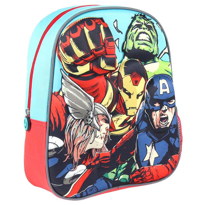 Mochila 3D Vengadores Avengers Marvel 31cm