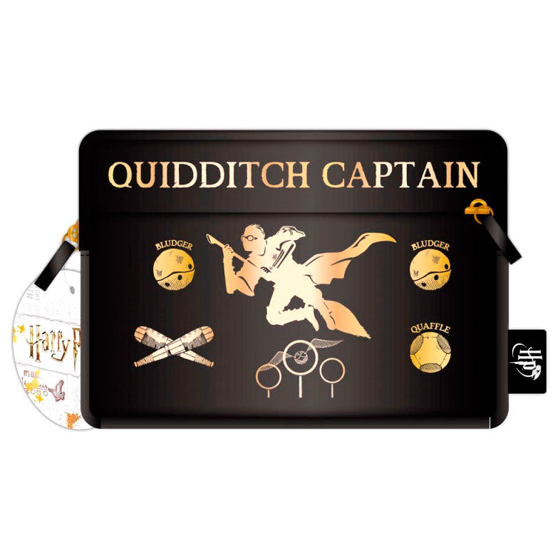 Portatodo Quidditch Harry Potter black