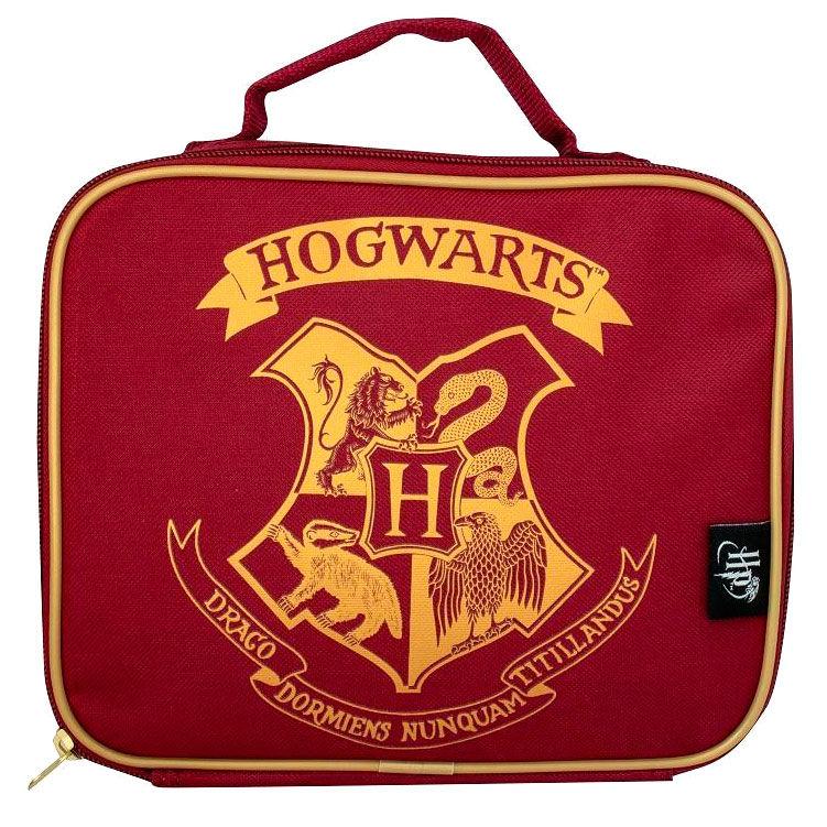 Bolsa portameriendas termo Hogwarts Harry Potter red 5060718140127