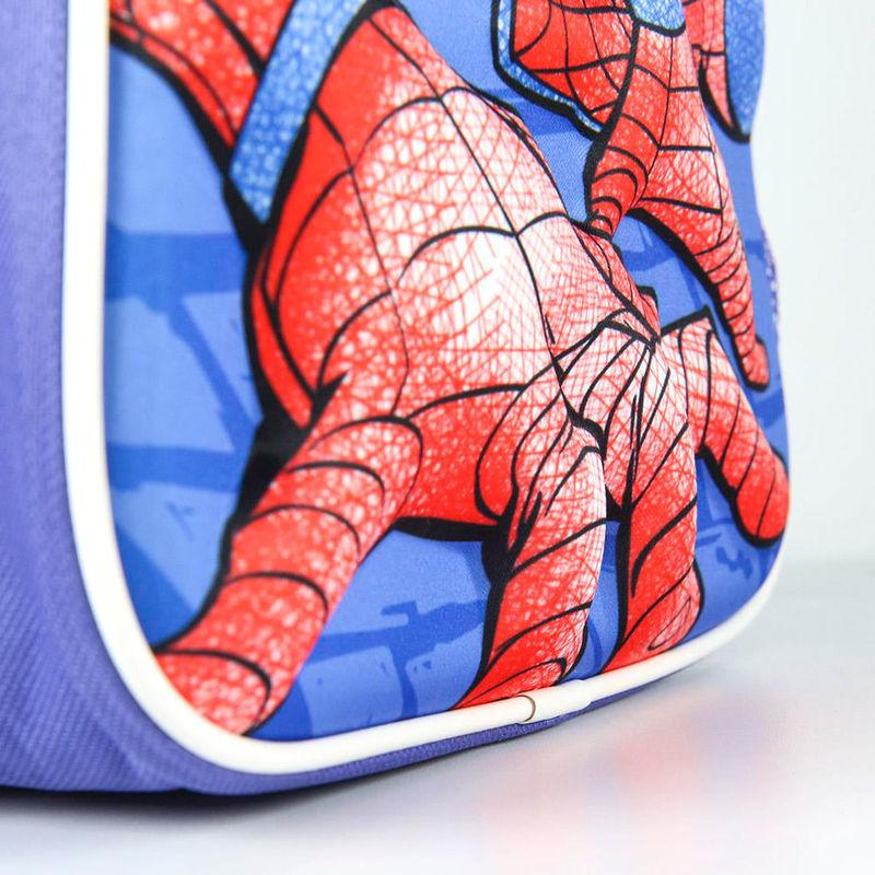 Mochila 3D Spiderman Marvel con accesorios 31cm