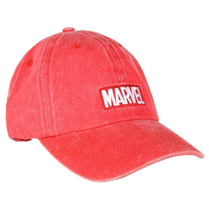 Gorra baseball Marvel Roja