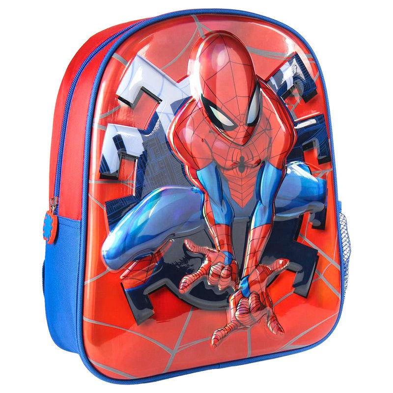 Mochila 3D premium Spiderman Marvel 31cm