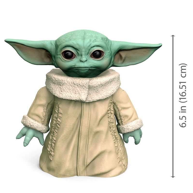 Figura acción Baby Yoda The Child Star Wars 16cm By Hasbro (1)