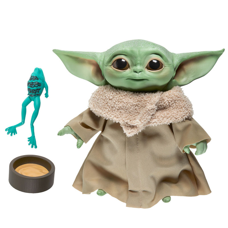 Peluche Baby Yoda (The Child) The Mandalorian (Star Wars) con sonidos 19cm