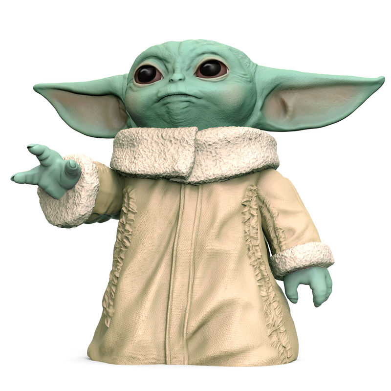 Figura acción Baby Yoda The Child Star Wars 16cm By Hasbro