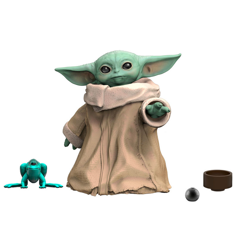 Figura acciónn Beby Yoda The Child Star Wars 3cm By Hasbro