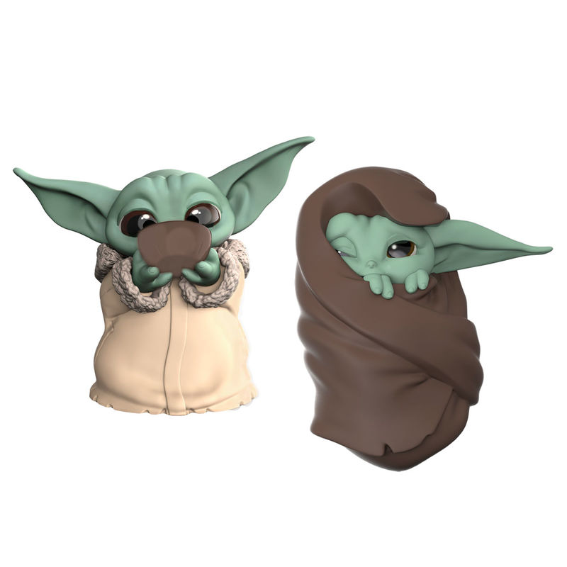 Pack 2 figuras Yoda The Child Star Wars By Hasbro
