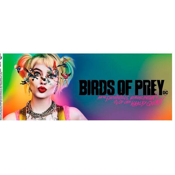 Taza Harley Quinn Key Art Birds of Prey DC Comics