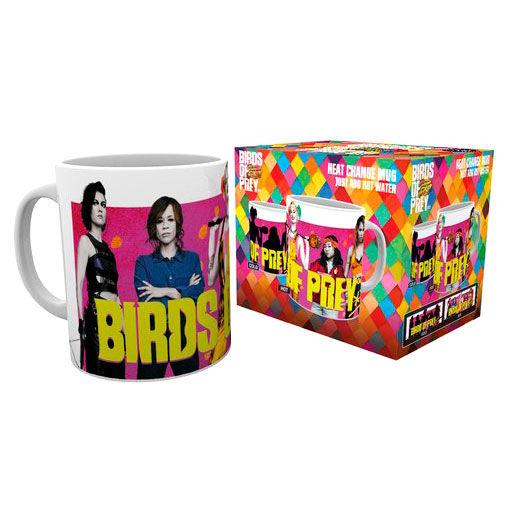 Dc Comics Birds Of Prey Group Heat Change Mug