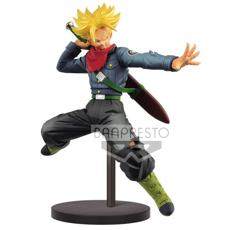 Figura Super Saiyan Trunks Future Chosenshi Retsuden Dragon Ball Super 17cm 4983164163056