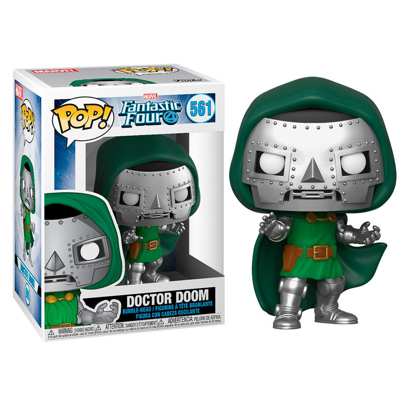 Funko POP o Figura POP Marvel Los 4 Fantasticos Doctor Doom