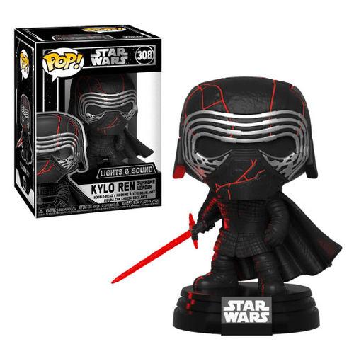 Funko-POP Star Wars Rise of Skywalker-Kylo Ren SL Brand New in Box