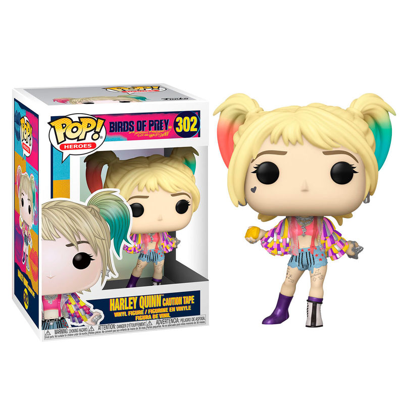 Funko POP o Figura POP DC Birds of Prey Harley Quinn Caution Tape