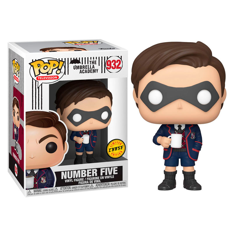 Figura POP Umbrella Academy Number Five Chase 889698445146Chase