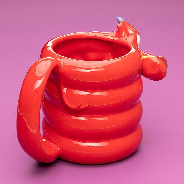 Taza 3D Mushu Mulan Disney