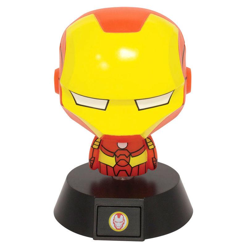 Lampara Icons Iron Man Marvel