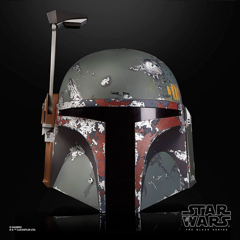 Réplica del Casco Electronico Premium Boba Fett The Black Series Star Wars By Hasbro (2)