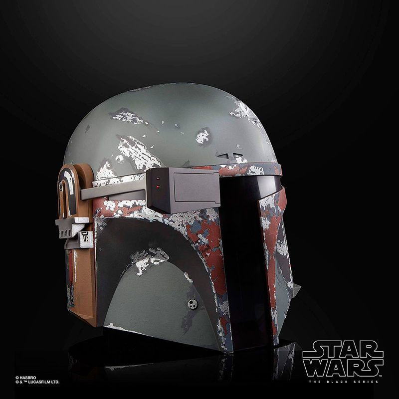 Réplica del Casco Electronico Premium Boba Fett The Black Series Star Wars By Hasbro (4)