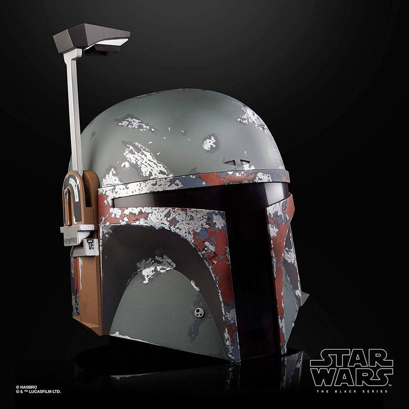 Réplica del Casco Electronico Premium Boba Fett The Black Series Star Wars By Hasbro (5)