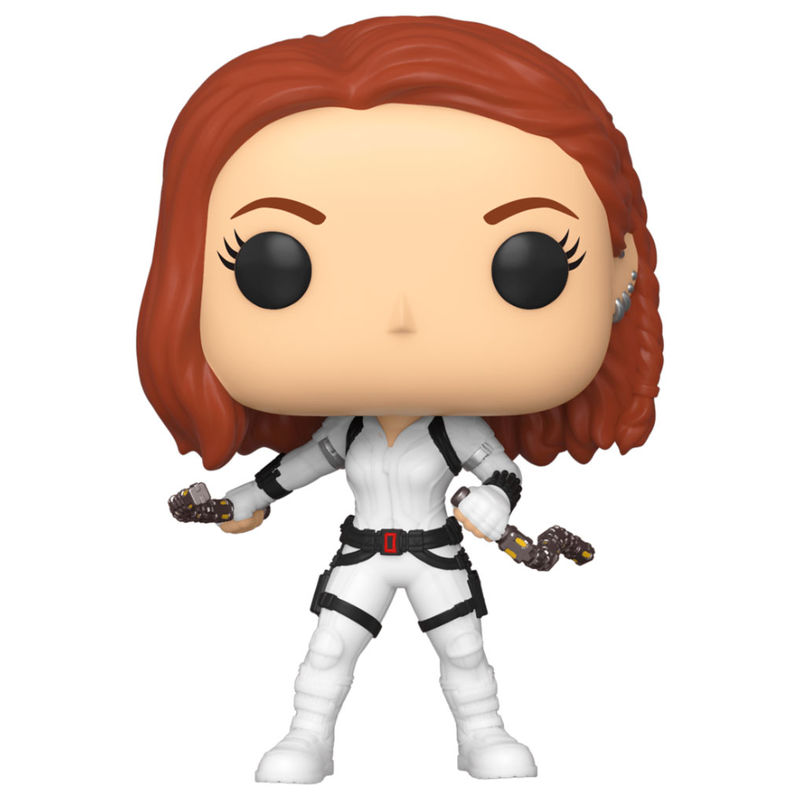 Funko POP o Figura POP Marvel Black Widow White Suit
