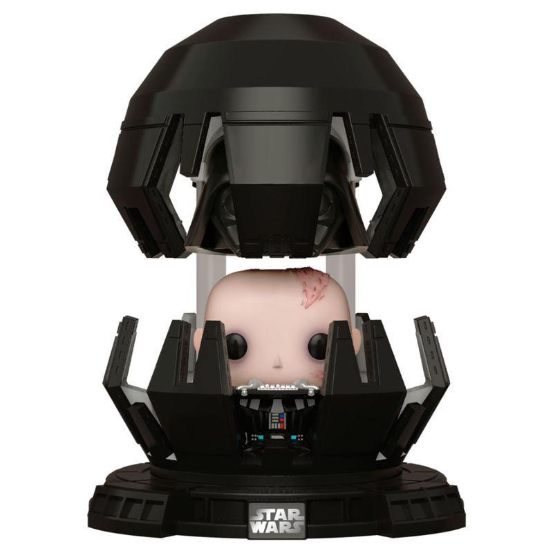 Funko POP o Figura POP Star Wars Darth Vader en la Cámara de Meditación