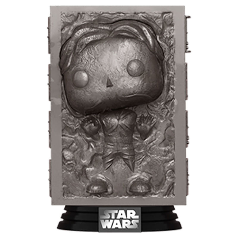 Funko POP o Figura POP Star Wars Han Solo en Carbonite
