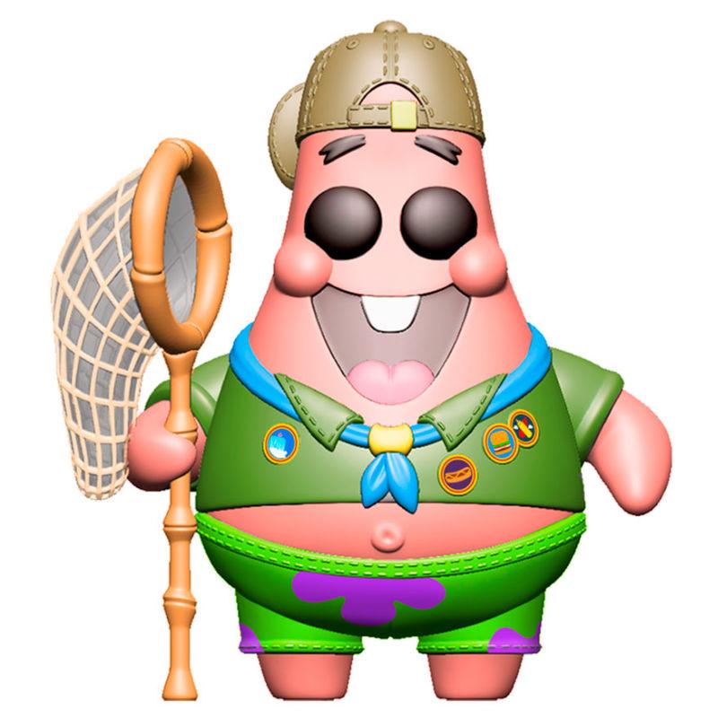 Funko POP o Figura POP Sponge Bob Patrick in Camping Gear